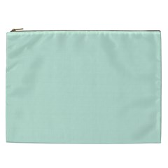 Pastel Color   Light Greenish Gray Cosmetic Bag (xxl)  by tarastyle