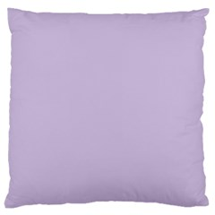 Pastel Color   Light Violetish Gray Large Cushion Case (two Sides) by tarastyle