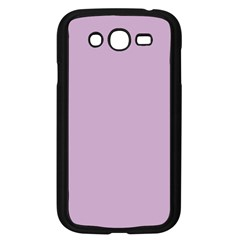 Pastel Color   Magentaish Gray Samsung Galaxy Grand Duos I9082 Case (black) by tarastyle