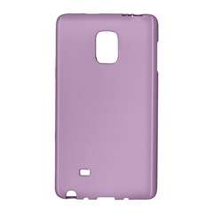 Pastel Color   Magentaish Gray Galaxy Note Edge by tarastyle
