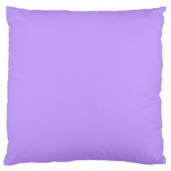 Pastel Color   Pale Blue Violet Large Cushion Case (two Sides) by tarastyle