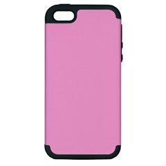 Pastel Color   Pale Cerise Apple Iphone 5 Hardshell Case (pc+silicone) by tarastyle