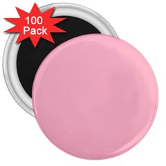 Pastel Color   Pale Crimson 3  Magnets (100 Pack) by tarastyle