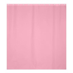 Pastel Color   Pale Crimson Shower Curtain 66  X 72  (large)  by tarastyle