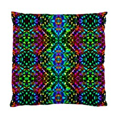 Glittering Kaleidoscope Mosaic Pattern Standard Cushion Case (one Side) by Costasonlineshop