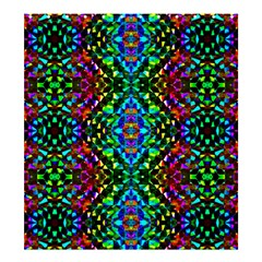 Glittering Kaleidoscope Mosaic Pattern Shower Curtain 66  X 72  (large)  by Costasonlineshop