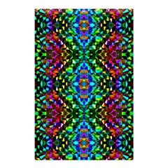 Glittering Kaleidoscope Mosaic Pattern Shower Curtain 48  X 72  (small)  by Costasonlineshop