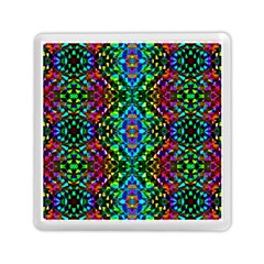 Glittering Kaleidoscope Mosaic Pattern Memory Card Reader (square)  by Costasonlineshop