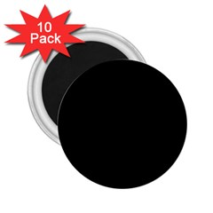 Black Gothic 2 25  Magnets (10 Pack)  by Costasonlineshop