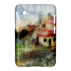 Old Spanish Village Samsung Galaxy Tab 2 (7 ) P3100 Hardshell Case  by digitaldivadesigns