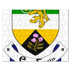 County Offaly Coat Of Arms  Rectangular Jigsaw Puzzl by abbeyz71