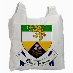 County Offaly Coat Of Arms  Recycle Bag (one Side) by abbeyz71