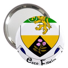 County Offaly Coat Of Arms  3  Handbag Mirrors by abbeyz71