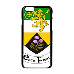County Offaly Coat Of Arms  Apple Iphone 6/6s Black Enamel Case by abbeyz71