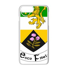County Offaly Coat Of Arms  Apple Iphone 7 Plus White Seamless Case by abbeyz71