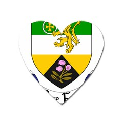 County Offaly Coat Of Arms  Heart Magnet by abbeyz71