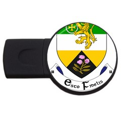 County Offaly Coat Of Arms  Usb Flash Drive Round (2 Gb) by abbeyz71
