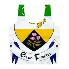 County Offaly Coat Of Arms  Full Print Recycle Bags (l)  by abbeyz71