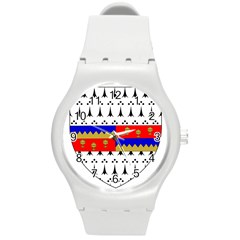 County Tipperary Coat Of Arms  Round Plastic Sport Watch (m) by abbeyz71