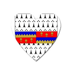 County Tipperary Coat Of Arms  Heart Magnet by abbeyz71