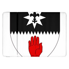 County Tyrone Coat Of Arms  Samsung Galaxy Tab 8 9  P7300 Flip Case by abbeyz71