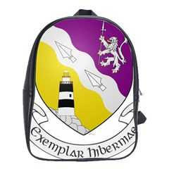 County Wexford Coat Of Arms  School Bags(large)  by abbeyz71