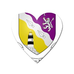 County Wexford Coat Of Arms  Heart Magnet by abbeyz71