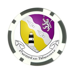 County Wexford Coat Of Arms  Poker Chip Card Guard by abbeyz71