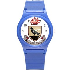 County Dublin Coat Of Arms  Round Plastic Sport Watch (s) by abbeyz71