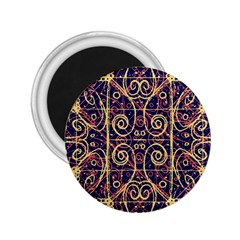 Tribal Ornate Pattern 2 25  Magnets by dflcprints