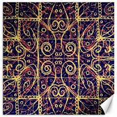 Tribal Ornate Pattern Canvas 16  X 16   by dflcprints