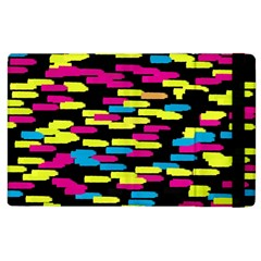 Colorful Strokes On A Black Background       Kindle Fire (1st Gen) Flip Case