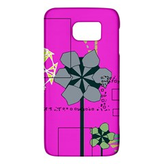 Flowers And Squares        Htc One M9 Hardshell Case by LalyLauraFLM