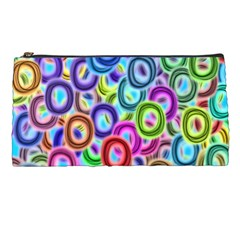 Colorful Ovals        Pencil Case by LalyLauraFLM