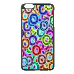 Colorful Ovals        Apple Iphone 6 Plus/6s Plus Hardshell Case by LalyLauraFLM