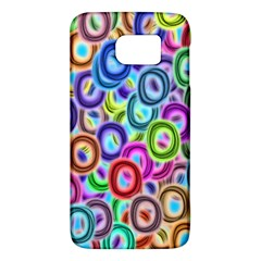 Colorful Ovals        Htc One M9 Hardshell Case by LalyLauraFLM