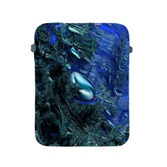 Shiny Blue Pebbles Apple Ipad 2/3/4 Protective Soft Cases by linceazul