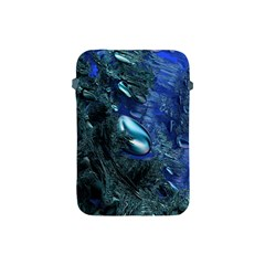 Shiny Blue Pebbles Apple Ipad Mini Protective Soft Cases by linceazul