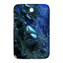 Shiny Blue Pebbles Samsung Galaxy Note 8 0 N5100 Hardshell Case  by linceazul