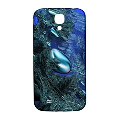 Shiny Blue Pebbles Samsung Galaxy S4 I9500/i9505  Hardshell Back Case by linceazul