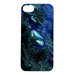 Shiny Blue Pebbles Apple Iphone 5s/ Se Hardshell Case by linceazul