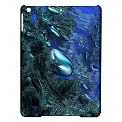 Shiny Blue Pebbles Ipad Air Hardshell Cases by linceazul