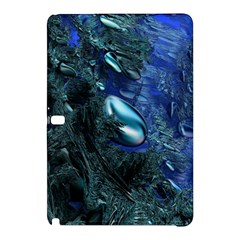 Shiny Blue Pebbles Samsung Galaxy Tab Pro 10 1 Hardshell Case by linceazul