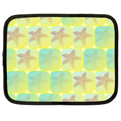 Starfish Netbook Case (xxl)  by linceazul