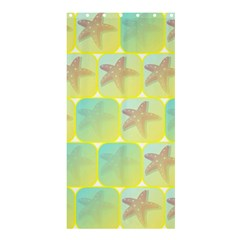 Starfish Shower Curtain 36  X 72  (stall)  by linceazul