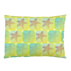 Starfish Pillow Case (two Sides) by linceazul