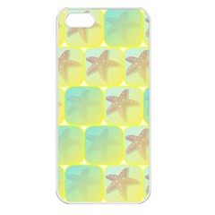 Starfish Apple Iphone 5 Seamless Case (white) by linceazul
