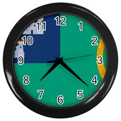 City Of Dublin Fag  Wall Clocks (black)