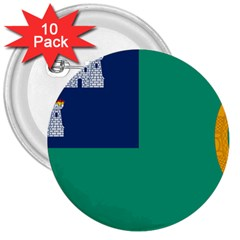 City Of Dublin Flag 3  Buttons (10 Pack)  by abbeyz71