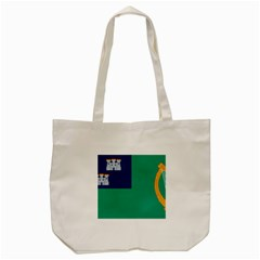 City Of Dublin Flag Tote Bag (cream) by abbeyz71